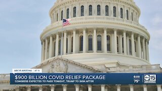 $900 billion COVID relief package in the works