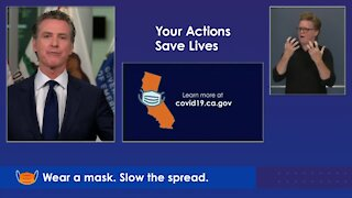 Gov. Newsom California update on wildfires and COVID-19
