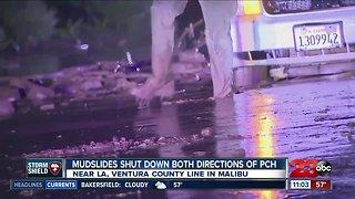 Debris flow causes highway 101 closures