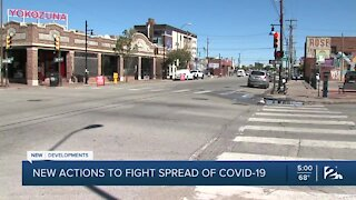 New actions to fight spread of COVID-19