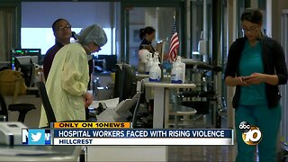 Effort to curb rise in violence against health care workers