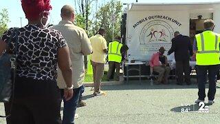 Baltimore County launches mobile vaccine unit