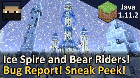Bug Report and Sneak Peek! Minecraft Java 1.11.2