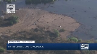 Mudslide shuts down SR-188