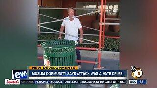Muslim community calls attack a hate crime