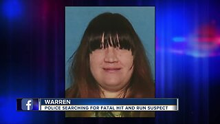 Woman wanted in deadly hit-and-run that killed 55-year-old Warren man