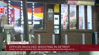 Suspect in stable condition after officer-involved shooting in Detroit