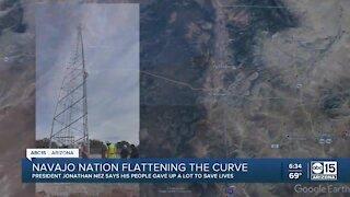 Navajo Nation flattening the COVID curve