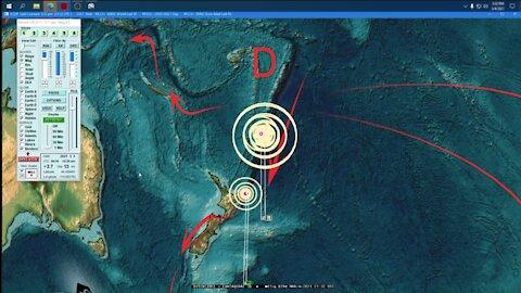 Dutchsinse: THREE Mega-quakes strikes North of New Zealand M8.1 , M7.4 & M7.3