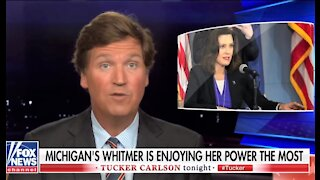 Tucker Carlson: Michigan's power-tripping gov Gretchen Whitmer loves lockdown