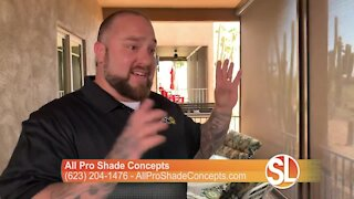 All Pro Shade Concepts: Solutions to your outdoor shade problems