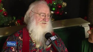 Christmas Eve interview with Santa