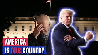TRUMP: BIDEN IS FIRST PRESIDENT IN AMERICAN HISTORY WHO DOES NOT THINK AMERICA SHOULD BE A COUNTRY