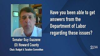 Senator Guy Guzzone talks about unemployment issues