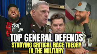 Top General Defends Studying Critical Race Theory In The Military