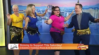 """""""Shimmy"""" And Support!"""
