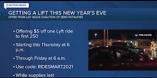 Getting a lift on New Year's Eve