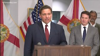 DeSantis SLAMS Biden: Until You Secure Border, 'I Don't Want to Hear a Blip About COVID from You'