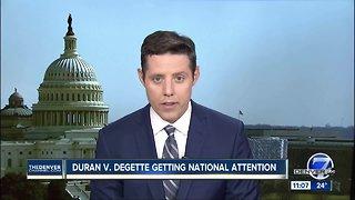 Duran v Degette getting national attention