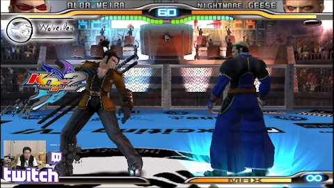 (PS2) KOF Maximum Impact 2 - 25 - Hard Challenge - Level 10-2 - That you Geese?