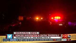 Deadly shooting in Central Bakersfield leaves one person dead