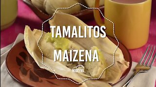 Green Tamales with Pork Meat
