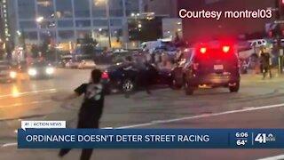 Ordinance doesn't deter street racing