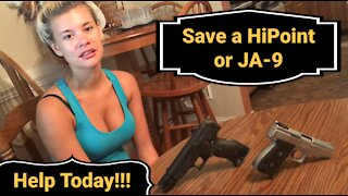 BANNED VIDEO!!! Adopt a HiPoint or JA-9!!!