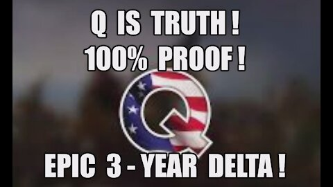 Q is Truth 100% Proof EPIC 3-Year Delta! Trump is Still President! Dan Scavino Comms! Military Court