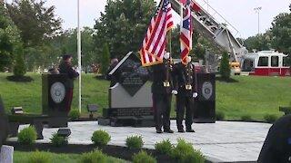 Mentor honors first responders with memorial dedication