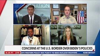 CONCERNS AT THE U.S. BORDER OVER BIDEN'S POLICIES