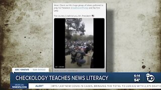 Checkology teaches news literacy