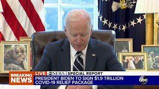 President Biden signs $1.9T stimulus package