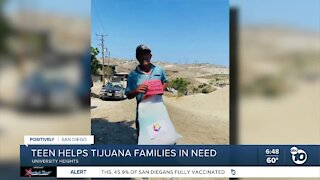 Local teen helps Tijuana families in need