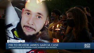 FBI to review James Garcia case as family calls for transparency