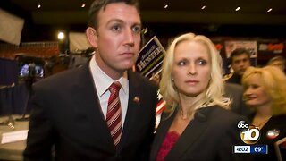 Duncan Hunter distances self from wife's case after guilty plea