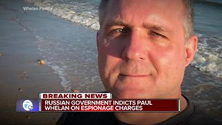 Reports: Russia formally charges metro Detroit man, Paul Whelan, with espionage