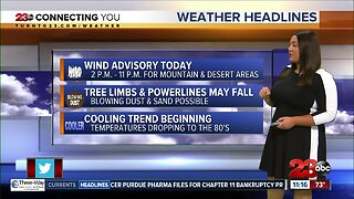 Kern County cools down