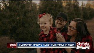 Community raising money for family in need