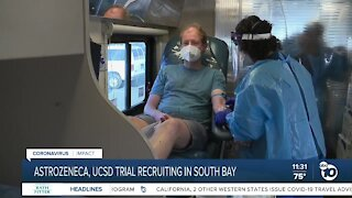 Vaccine trial recruiting in South Bay