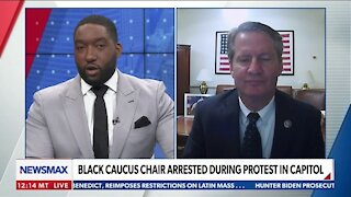 Black Caucus Chair Arrested During Protest in Capitol
