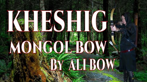 Practice with The Khishig Bow