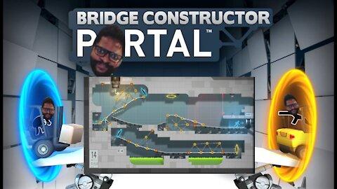 Bridge Constructor Portal: Levels 14