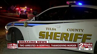 Teen arrested for Berryhill Thanksgiving Day murder