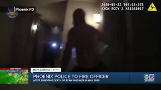 Phoenix Police Department moves to fire officer who shot, killed Ryan Whitaker following review