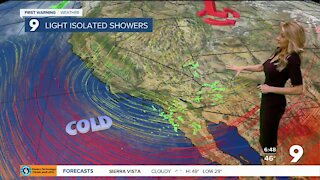 A blast of winter arrives in southern Arizona