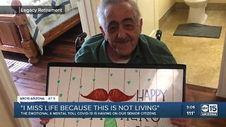 COVID-19 takes emotional toll on senior citizens