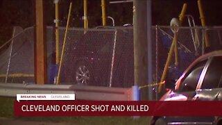 UPDATE: Cleveland police identify officer shot, killed on city's West Side