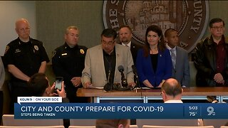 City and County prepare for COVID-19
