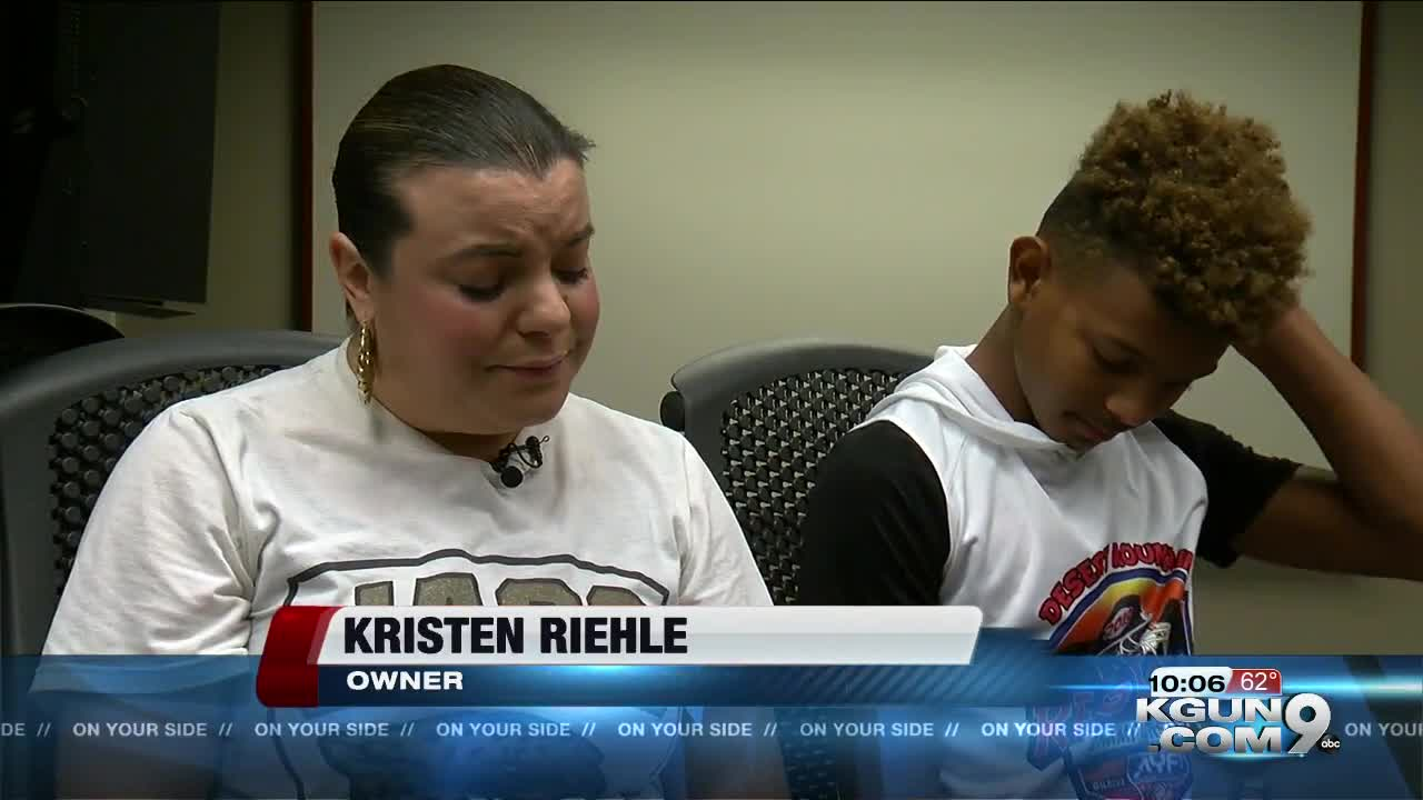 Owner of dog rescued from Pima County cliff speaks